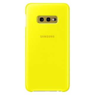 Samsung Ef-Zg970cyegww Clear View Cover S10e  Yellow