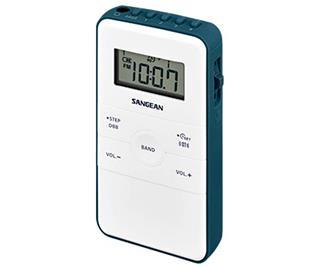 Radio de bolsillo Sangean DT-140 FM/AM con Batería Recargable Co