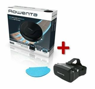 Aspirador robot Rowenta Rr6825wh + mopa + gafas 3D