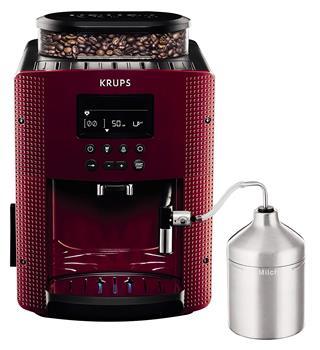 CAFETERA EXPRESS KRUPS EA816570 COMPACTA ROJ·