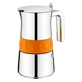 Cafetera Italiana Bra 170563 Elegance Orange 4