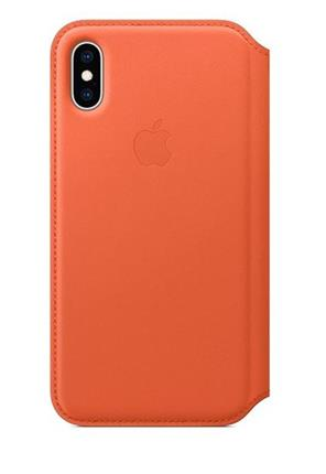 Carcasa  Apple Mrwn2zm/A Iphone xs Leather Mid Blue