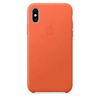 Carcasa  Apple Mvfq2zm/A Iphone xs Leather Cas ...