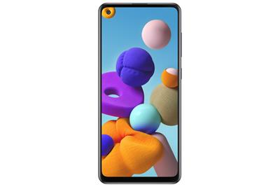 SMARTPHONE SAMSUNG A21S DS 4GB 128GB BLACK EU·