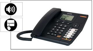 Telefono Alcatel Temporis 880 Negro