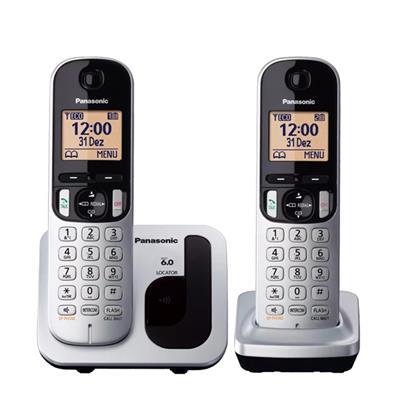 Telefono Dect Duo Panasonic Kx-Tgc212sps Gri ...