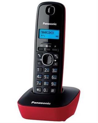 Telefono Dect Panasonic Kx-Tg1611spr Negro/Rojo