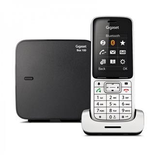 Teléfono inalámbrico Gigaset SL450 Negro y Gris