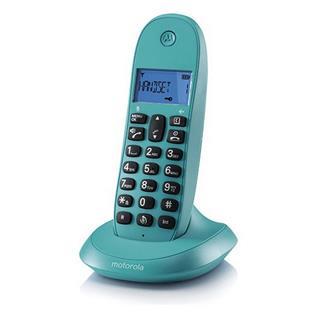 Teléfono Inalámbrico Motorola C1001L Turquesa
