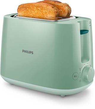 Tostador Philips Hd2581/60 2 Ranuras.Verde