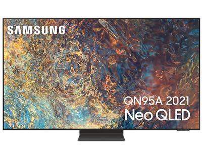 "Televisor Samsung Qe55qn95aatxxc 55"" QLED UHD 4K ..."
