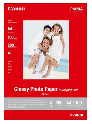 CANON GP-501 GLOSSY PHOTO PAPER       .