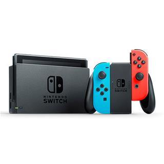 Consola Nintendo Switch azul neón/rojo neón
