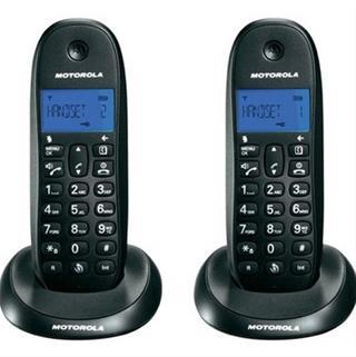 Motorola INALAMBR DECT C1001L DUO NEGRO