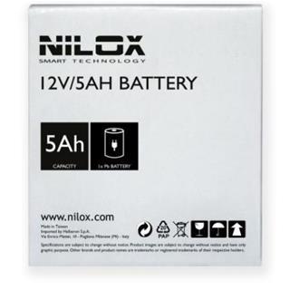 Nilox BATERIA PER UPS 12V 5AH