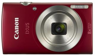 CANON IXUS 185 RED                   CCD 8X 20MPX 2.7IN