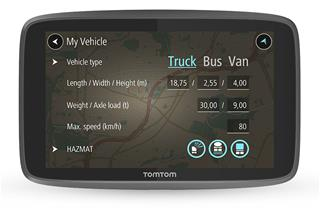 Navegador GPS TomTom GO Profesional 6250  Vehiculos Grandes