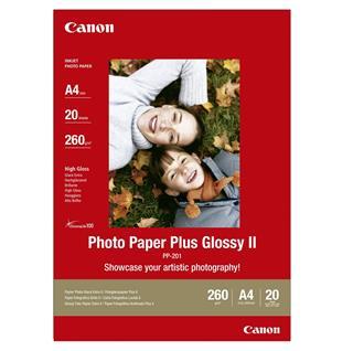 CANON PAPEL INKJET PP-201 FOTOGRÁFICO PLUS A4 ...