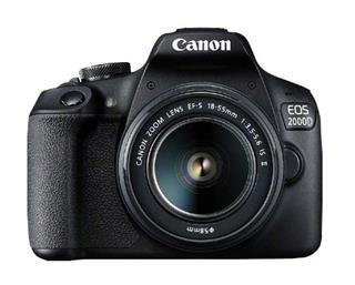 Cámara CANON EOS 2000D BK 18-55 IS EU26  24.1MP ...