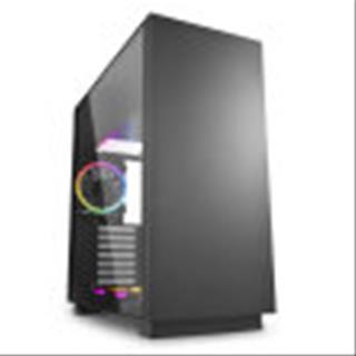 CAJA GAMING SHARKOON PURE STEEL ATX 2XUSB3.0 SIN FUENTE RGB