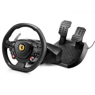 Volante y pedales THRUSTMASTER T80 RW  FERRARI 488 GTB  PARA PS4