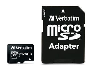 Verbatim MICRO SDHC 128GB CL10 ADAPTER