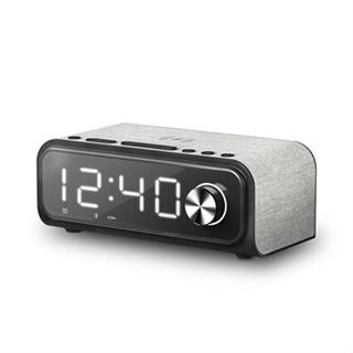 ENERGY SYSTEM CLOCK SPEAKER 4 WIRELESS CHARG·