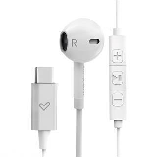 Auriculares internos Energy Sistem Smart 2 Tipo C alámbricos con micrófono blancos