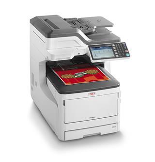 Impresora láser color OKI MC853DN USB Ethernet ...