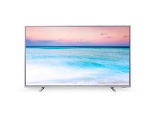 "Televisor Philips 50PUS6554 50"" LED 4K UHD plata Smart TV"