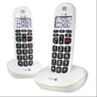 Doro Easy 110 Duo Teléfono Dect Color Blanco