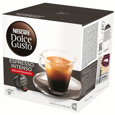 CAPSULA CAFETER DOLCE GUSTO ESPRESSO INTENSO·