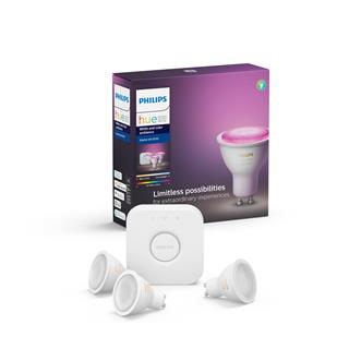 Philips Lighting kit bridge 3 GU10 bulbs BT