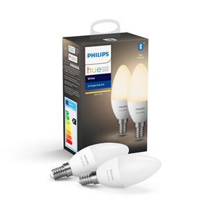 Philips Hue White Vein 6W B35 Set 2 units Bt