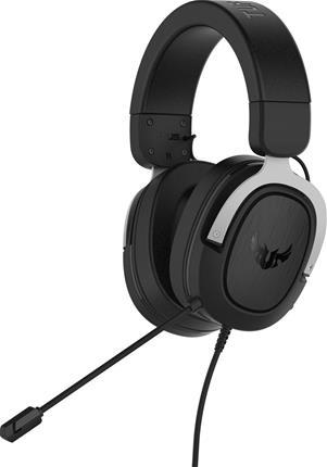 Auriculares externos Asus TUF Gaming H3 gris