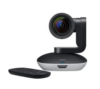 Cámara de vídeo HD 1080p con funciones panorámica/inclinación y