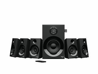 Altavoces 5.1 Logitech Z607  Sonido Envolvente 80W