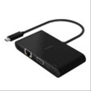 ADAPTADOR BELKIN TIPO C A (GBE. HDMI. VGA. USB/ A)