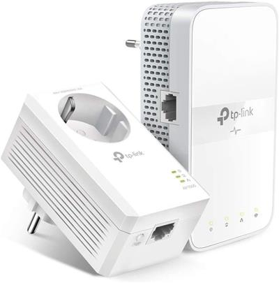 Adaptador de red TP-Link TL-WPA7617 KIT PowerLine 1200Mbit/s Ethernet Wifi blanco