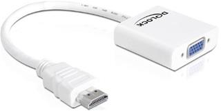 Adaptador delock hdmia 19 pines macho a vga
