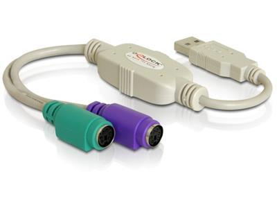 ADAPTADOR DELOCK USB A PS/2