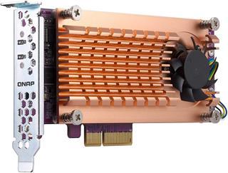 Adaptador Qnap QM2-2S-220A Dual M.2 a PCIe
