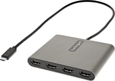 Adaptador Startech USBC2HD4 USB-C a 4X HDMI