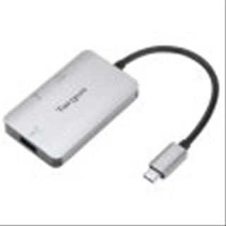 Adaptador TARGUS USB-C A 1xHDMI Y 1xUSB 3.0 PLATA