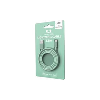 Adaptador USB a Apple Lightning Fresh ´N Rebel 1.5m verde menta
