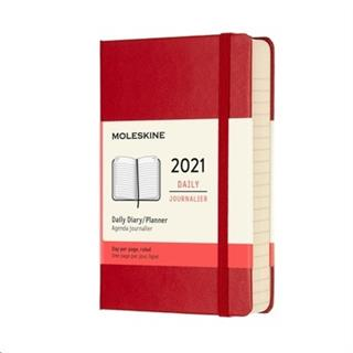 Agenda Moleskine DHF212DC2Y21 12M diaria P S.RED ...