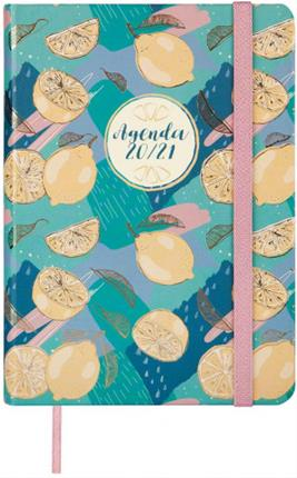 Agenda encuadernada Finocam Natural Lemon 8º ...