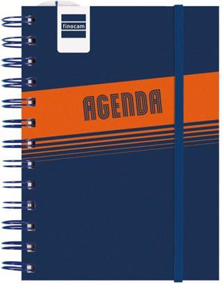 Agenda espiral Finocam escolar Lisa 8 días página ...