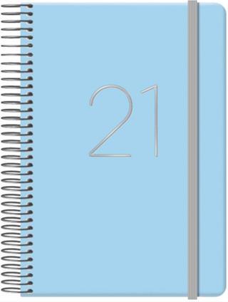 Agenda gloss día página 12.5 X 18 CM AZUL DOHE ...