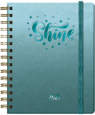 Agenda SHINE SEMANA VISTA 15 X 21 CM. DOHE 12648